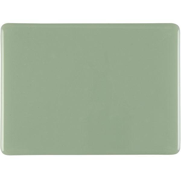 Bullseye Celadon Green - Opalescent - 3mm - Fusible Glass Sheets