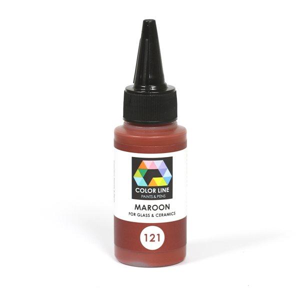 Color Line Pen - Maroon - 62g / 2.2oz
