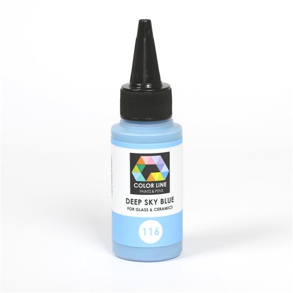Color Line Pen - Deep Sky Blue - 62g / 2.2oz