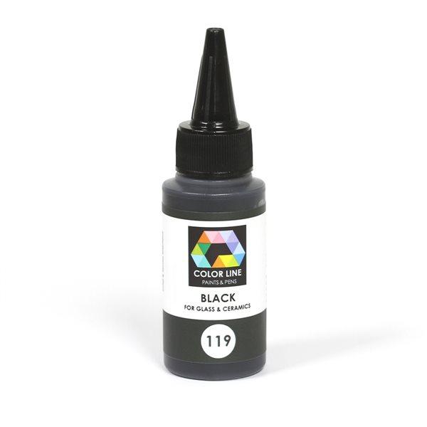 Color Line Pen - Black - 62g / 2.2oz