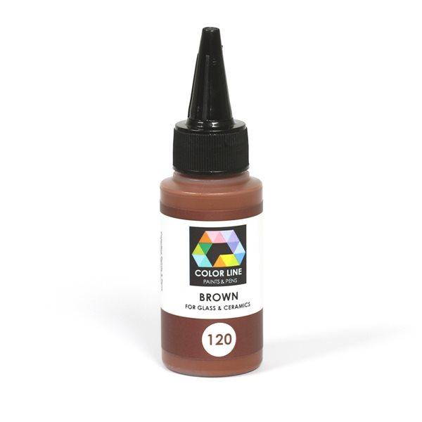 Color Line Pen - Brown - 62g / 2.2oz