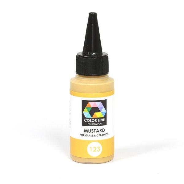 Color Line Pen - Mustard - 62g / 2.2oz
