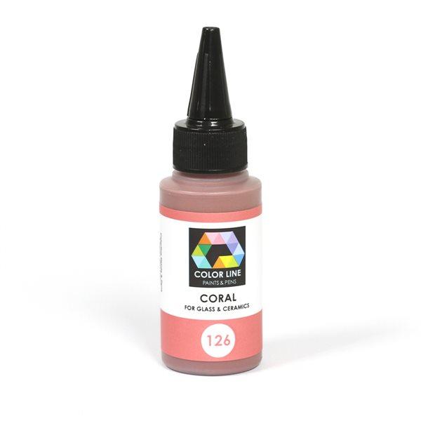 Color Line Pen - Coral - 62g / 2.2oz