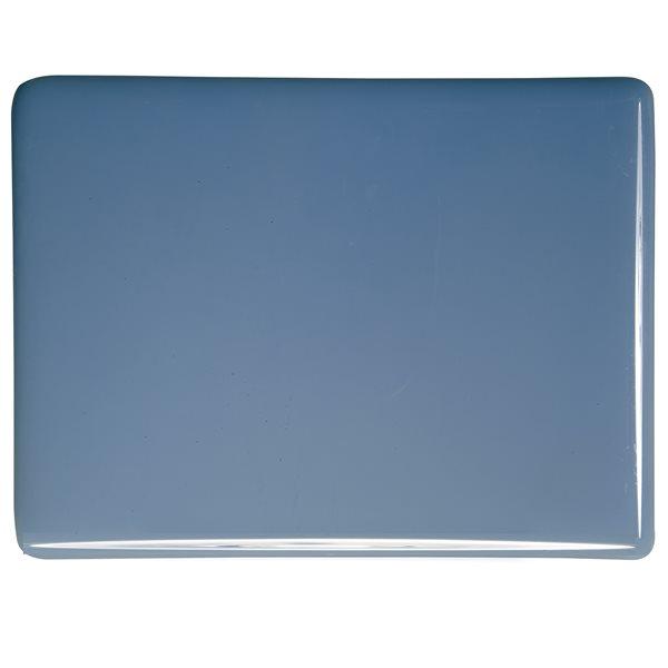 Bullseye Dusty Blue - Opalescent - 3mm - Fusible Glass Sheets