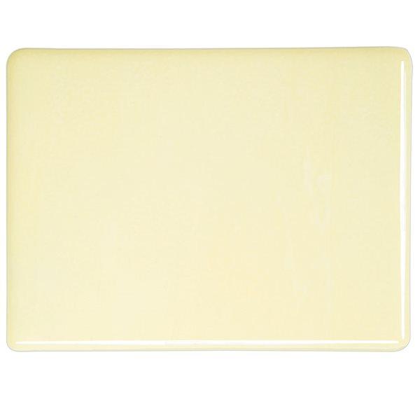 Bullseye Cream - Opalescent - 3mm - Fusible Glass Sheets