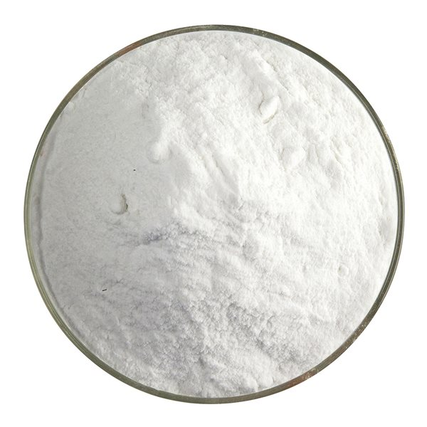 Bullseye Frit - Cream - Powder - 450g - Opalescent