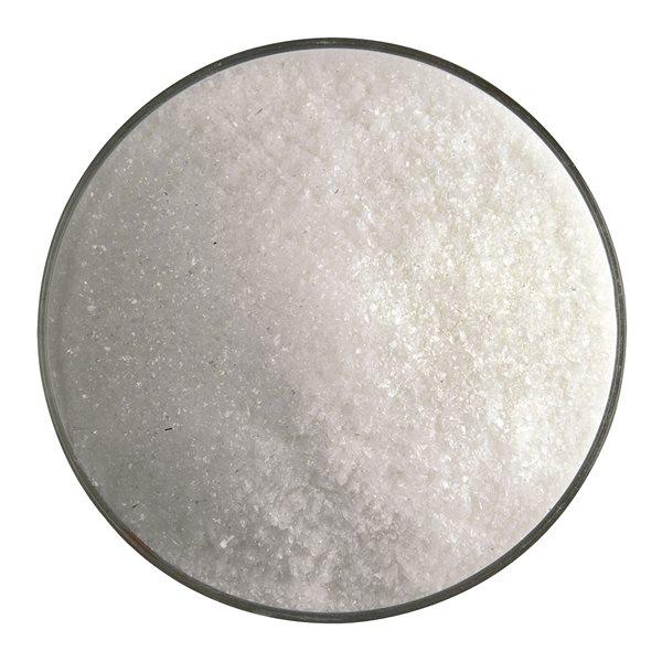 Bullseye Frit - Warm White - Fine 450g - Opalescent