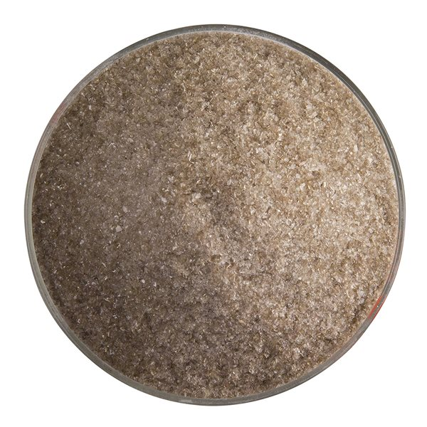 Bullseye Frit - Tan - Fine 450g - Transparent