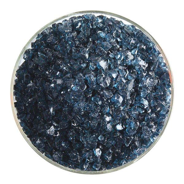 Bullseye Frit - Sea Blue - Coarse - 450g - Transparent