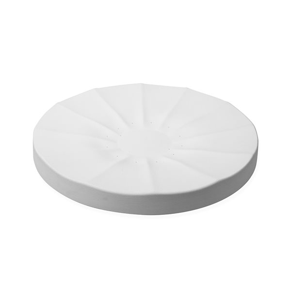 Blossom B - Fluted Plate - 35.5x3.5cm - Base: 9cm - Fusing Mould