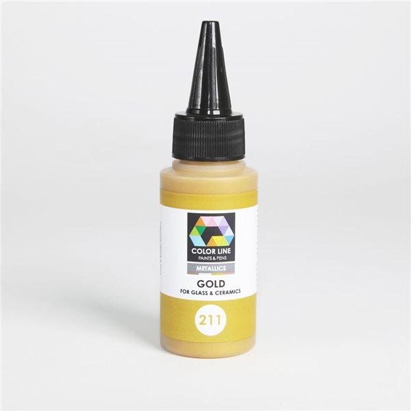 Color Line Pen - Metallic - Gold - 62g / 2.2oz