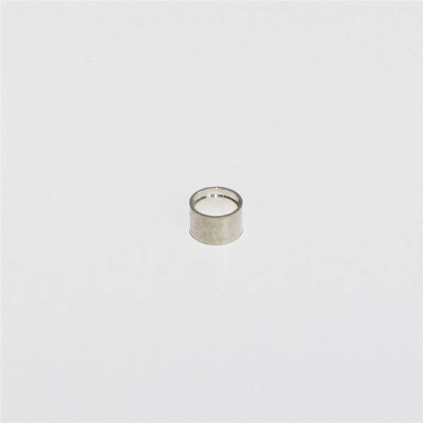 Tubular Bezel - Sterling 925 - Round - 4mm
