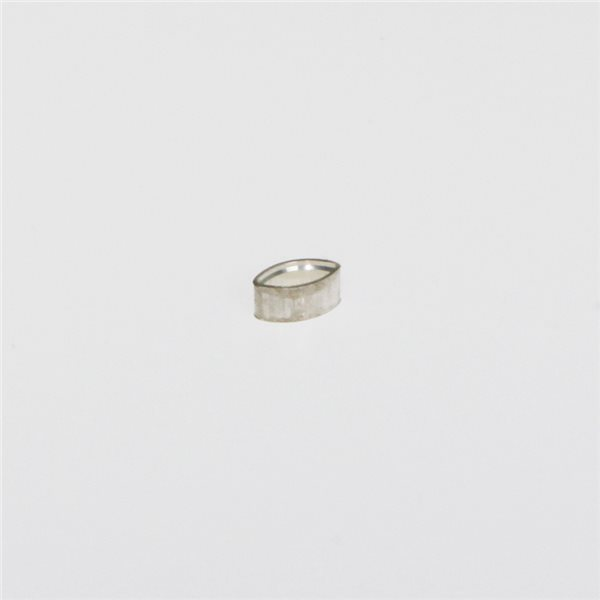 Tubular Bezel - Sterling 925 - Oval - 5x2.5mm