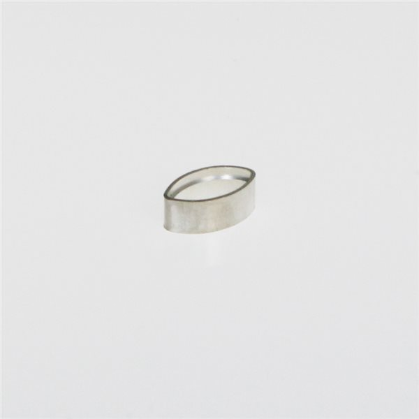 Tubular Bezel - Sterling 925 - Oval - 8x4mm