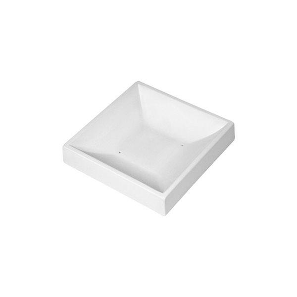 Sloped Square Bowl - 13.5x13.5x2.7cm - Base: 5.4x5.4cm - Fusing Mould