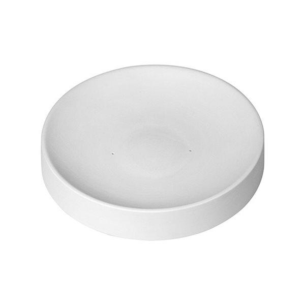 Round Slumper - 20.4x3.5cm - Base: 6.6cm - Fusing Mould