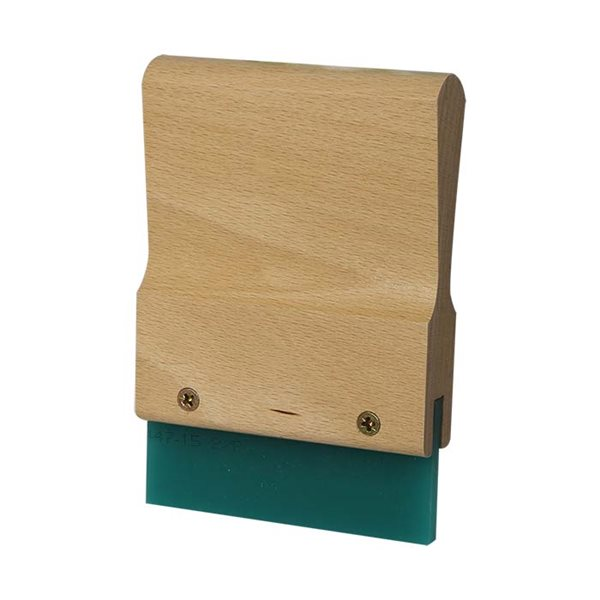 Wood Squeegee Handle & Blade - 10cm
