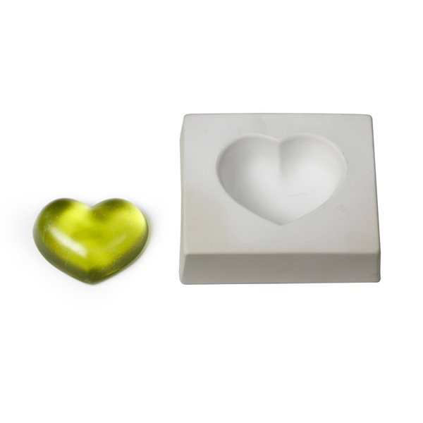 Heart - 14x12x4.3cm - Casting Mould