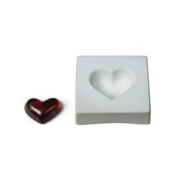 Heart - 10x9.1x3.1cm - Casting Mould