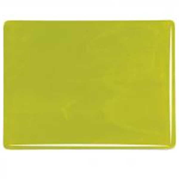 Bullseye Citronelle - Opalescent - 3mm - Fusible Glass Sheets