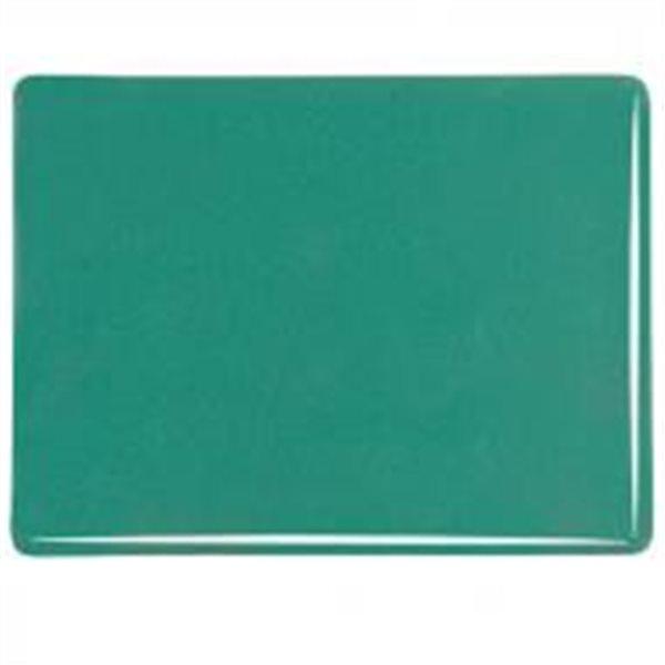 Bullseye Steel Jade - Opalescent - 3mm - Fusible Glass Sheets