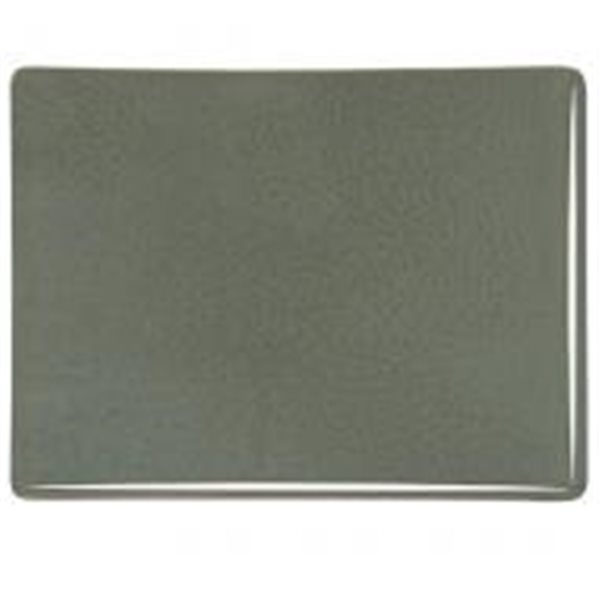 Bullseye Gray Green - Opalescent - 3mm - Fusible Glass Sheets