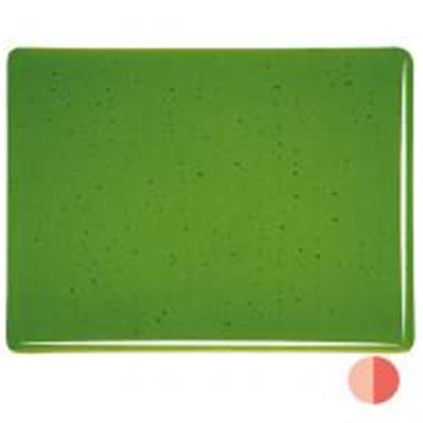 Bullseye Deep Green - Transparent - 3mm - Fusible Glass Sheets