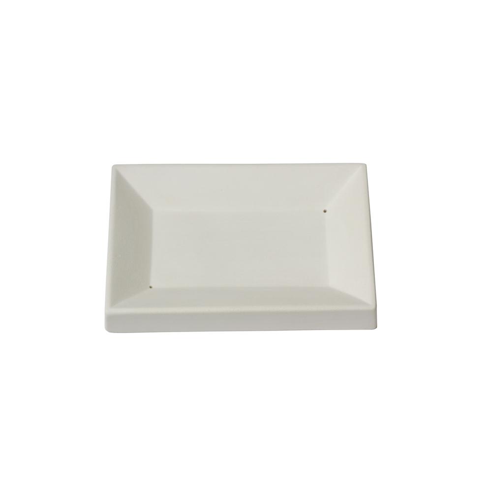 Soap Dish - 10.5x15.7x2.1cm - Fusing Mould