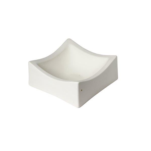 Deep Square Slumper - 12x12x5.4cm - Fusing Mould
