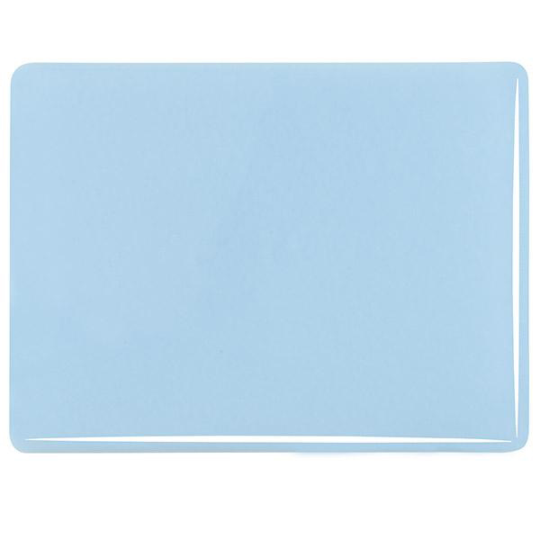 Bullseye Glacier Blue - Opalescent - 3mm - Fusible Glass Sheets
