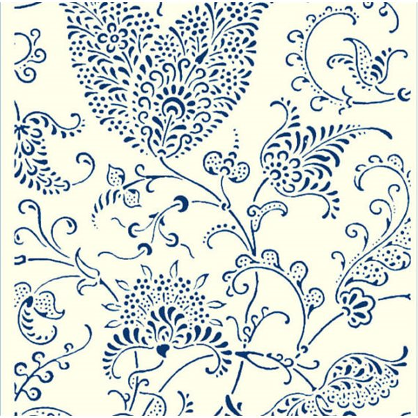 Texture Card - Floral Paisley - 5x8.5cm