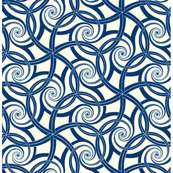 Texture Card - Repeating Swirls - 7.5x10cm