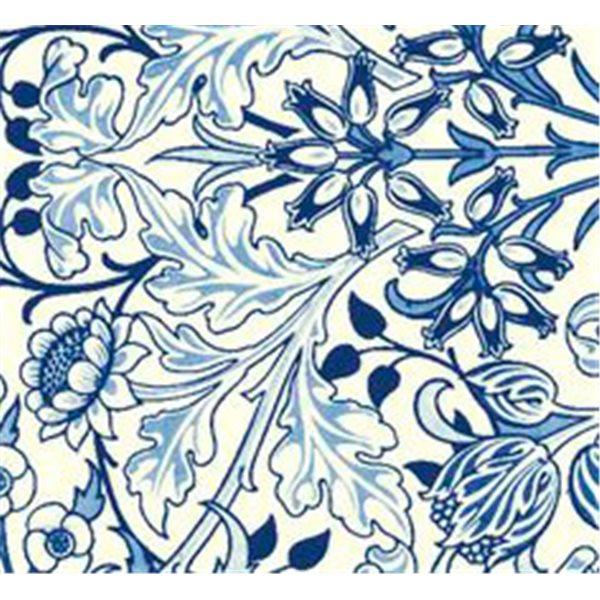 Texture Card - W. Morris-Hyacinth - 10x12.5cm