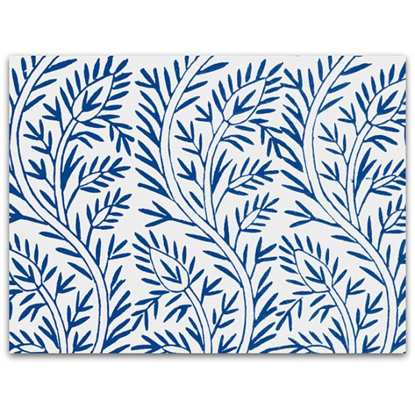 Texture Card - Leaf & Flower - 12.5x17.5cm