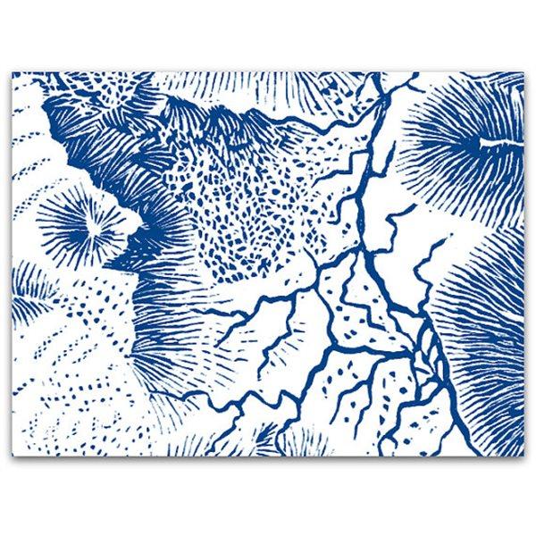 Texture Card - Mont Blanc - 12.5x17.5cm