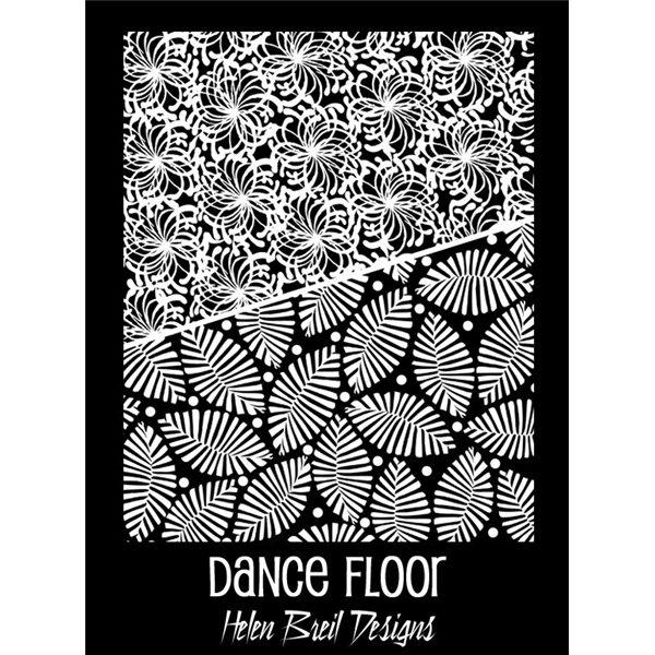 Rubber Stamp Mat - Dance Floor - 10x12.5cm
