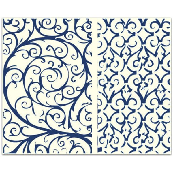 Texture Card - Wrought Iron Fence - 7.5x10cm