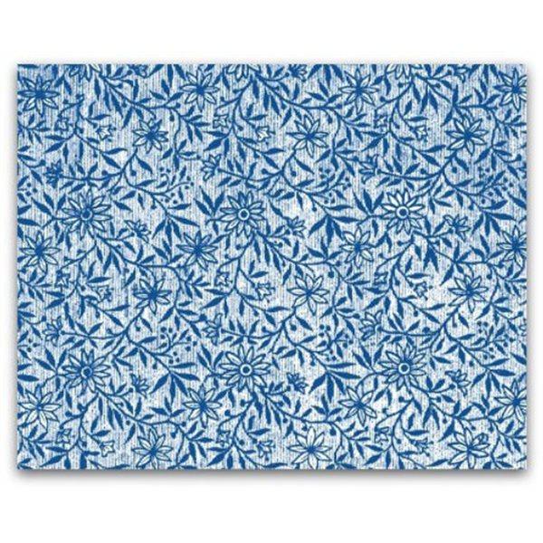 Texture Card - Floral Paper 1887 - 12,5x17.5cm