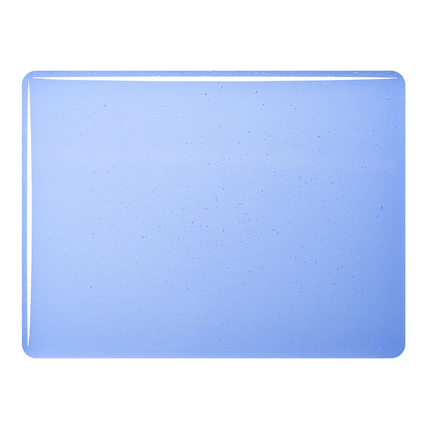 Bullseye Sapphire Blue Tint - Transparent - 3mm - Fusible Glass Sheets