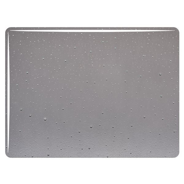 Bullseye Pewter - Transparent - 3mm - Fusible Glass Sheets