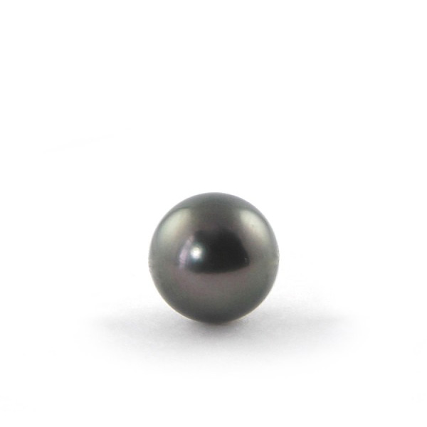 Tahiti Pearl - 12mm - Half-Drilled 0.8mm