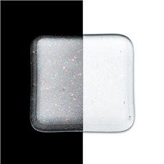 Bullseye Frit - Clear Irid Rainbow - Fine - 2.25kg - Transparent