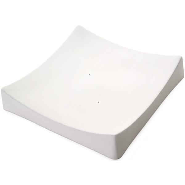 Square Slumper A - 25.6x25.9x4.8cm - Fusing Mould