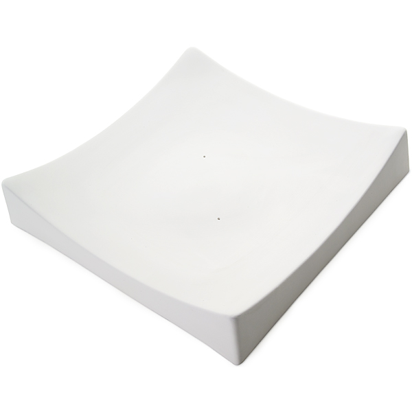 Square Slumper A - 30.4x30.8x5.6cm - Fusing Form