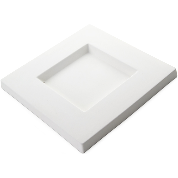 Square Platter - 24.5x24.5x2cm - Base: 12x12cm - Fusing Mould