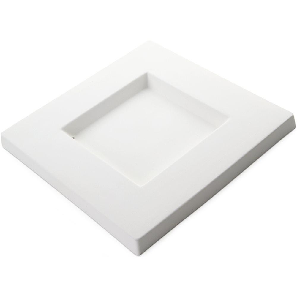 Square Platter - 24.5x24.5x2cm - Base: 12x12cm - Fusing Mould