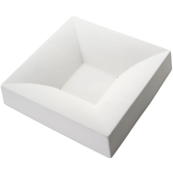 Square Bowl Simple Curve - 30.5x30.4x6.4cm - Base: 10.4cm - Fusing Mould