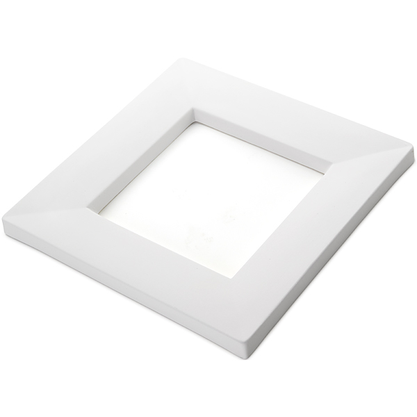 Drop Out Square - 24.2x24.2x1.7cm - Opening: 14.5x14.5x1.4cm - Fusing Mould