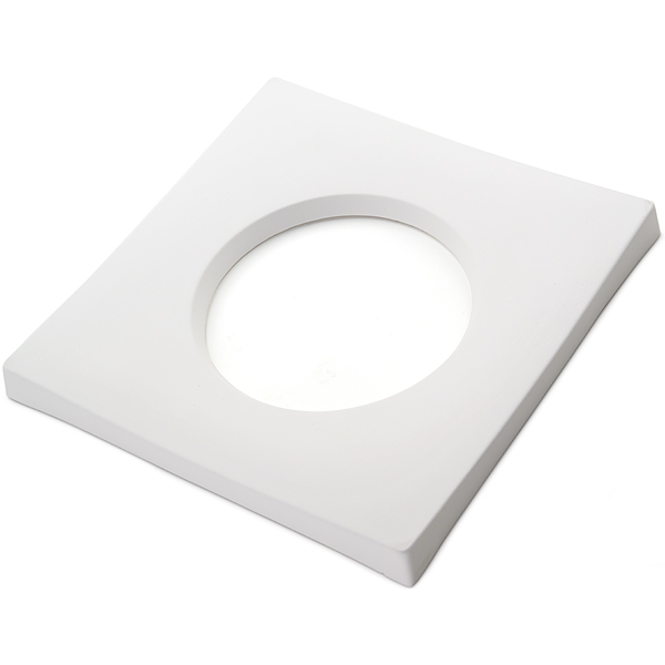 Drop Out Square - 25x25x2.3cm - Opening: 15x1.3cm - Fusing Mould