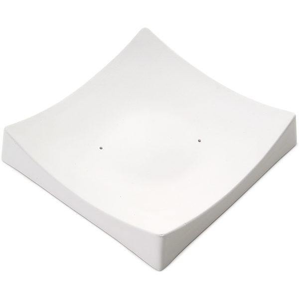 Square Slumper B - 15.6x16x2.9cm - Fusing Mould